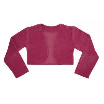 Bolero infantil Libelinha em plush – Pink